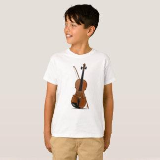 バイオリンの恋人、音楽的なひもの楽器のTシャツ Tシャツ