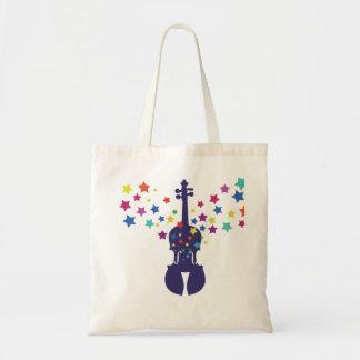 バイオリンの星のトートバック トートバッグ