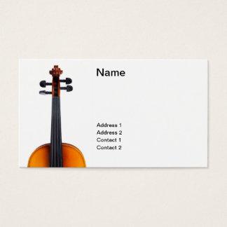 バイオリンの近い上り 名刺