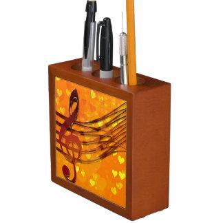 バイオリンの鍵 ペンスタンド
