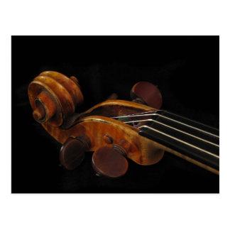 バイオリンスクロール ポストカード