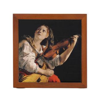 バイオリンプレーヤー ペンスタンド