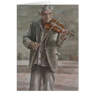 バイオリンプレーヤー、Subotica カード