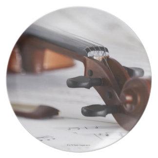 バイオリン弓 プレート