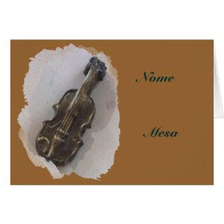 バイオリン カード