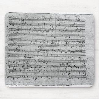 バイオリン、ハープシコードおよびvioloncelloのためのGの専攻学生 マウスパッド