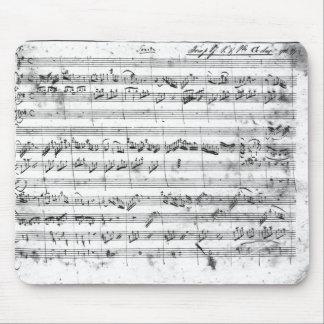 バイオリン、ハープシコードおよびvioloncello 2のためのGの専攻学生 マウスパッド