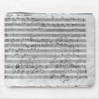 バイオリン、ハープシコードおよびvioloncello 3のためのGの専攻学生 マウスパッド