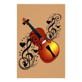 バイオリン、Heart_の恋人 便箋