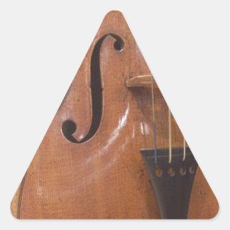 バイオリンII 三角形シール・ステッカー
