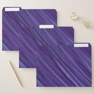 バイオレット|の紫色のラベンダーのプラム薄紫ブラシストローク ファイルフォルダー