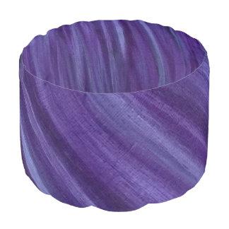バイオレット|の紫色のラベンダーのプラム薄紫ブラシストローク プーフ