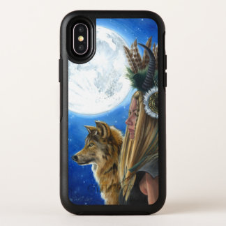 バイキングのオオカミの月の戦士のiPhone Xのオッターボックスの場合 オッターボックスシンメトリー iPhone X ケース