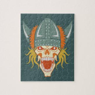 バイキングのスカルのカスタムなパズル ジグソーパズル