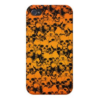 バイキングのスカルのSpeckの場合 iPhone 4/4S Case