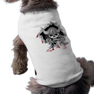 バイキングのスカル ペット服