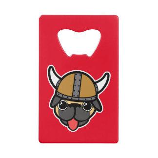 バイキングのパグ クレジットカード栓抜き