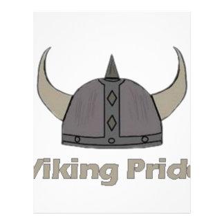 バイキングのプライド レターヘッド