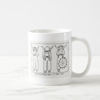 バイキングのプードル コーヒーマグカップ