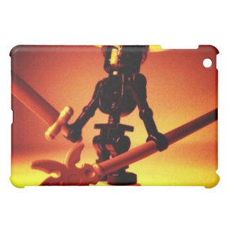 バイキングのヘルメットのカスタムMinifigの黒い骨組 iPad Mini Case
