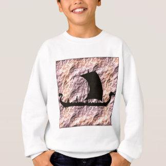 バイキングのボート スウェットシャツ