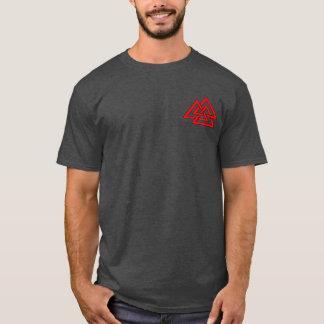 バイキングのワタリガラスの木2のワイシャツ Tシャツ
