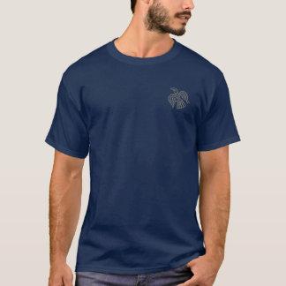 バイキングのワタリガラスの灰色のワイシャツ Tシャツ