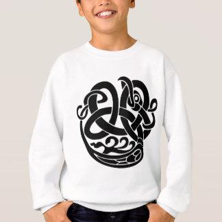 バイキングの世界の蛇の世界の食べる人Jormungandr スウェットシャツ