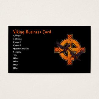 バイキングの十字の名刺 名刺