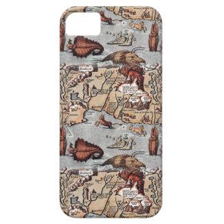 バイキングの地図 iPhone SE/5/5s ケース
