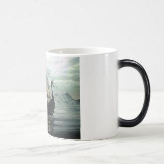 バイキングの巡航 モーフィングマグカップ