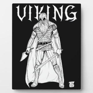 バイキングの戦士 フォトプラーク