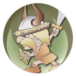 バイキングの戦士 プレート