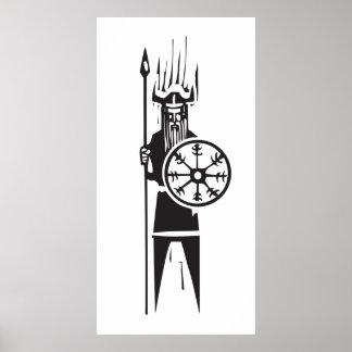 バイキングの戦士 ポスター