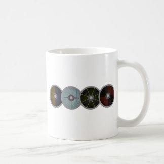 バイキングの盾の壁 コーヒーマグカップ