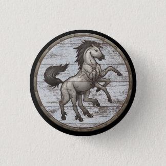 バイキングの盾ボタン- Sleipnir 3.2cm 丸型バッジ