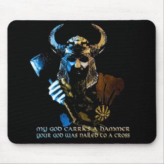 バイキングの神のマウスパッド マウスパッド