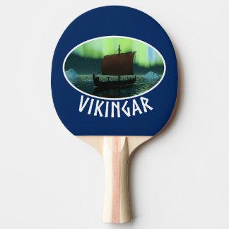 バイキングの船およびNorthern Lights 卓球ラケット