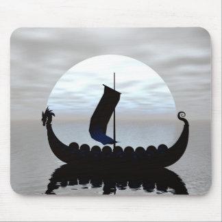 バイキングの船のマウスパッド マウスパッド