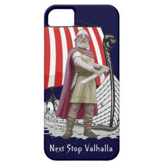バイキングの船のnorsemenの戦士のiphoneの場合カバー iPhone SE/5/5s ケース