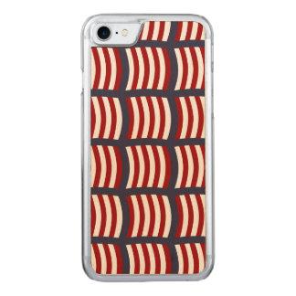 バイキングの船はiPhoneの場合を航海します Carved iPhone 8/7 ケース