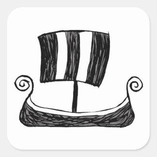 バイキングの船 スクエアシール