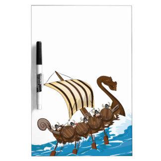バイキングの船 ホワイトボード