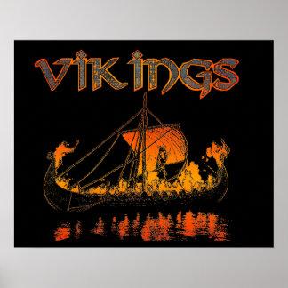 バイキングの葬式ポスター ポスター