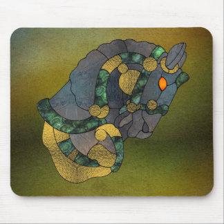 バイキングの馬のマウスパッド マウスパッド