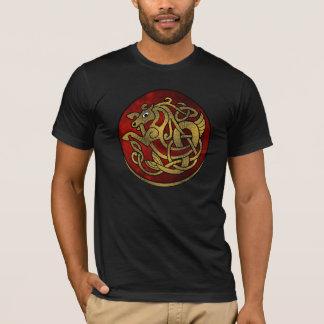バイキングの馬のワイシャツ Tシャツ