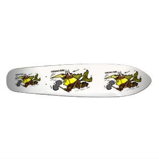 バイキングの魚のスケート板 18.1CM オールドスクールスケートボードデッキ