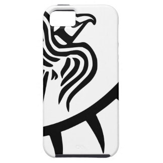 バイキングの黒のワタリガラスの旗 iPhone SE/5/5s ケース