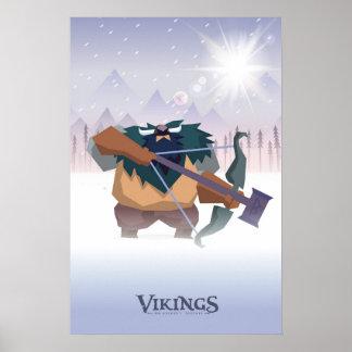 バイキングのberserker ポスター
