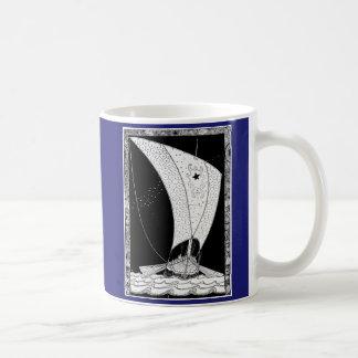 バイキングのLongshipのヨット コーヒーマグカップ